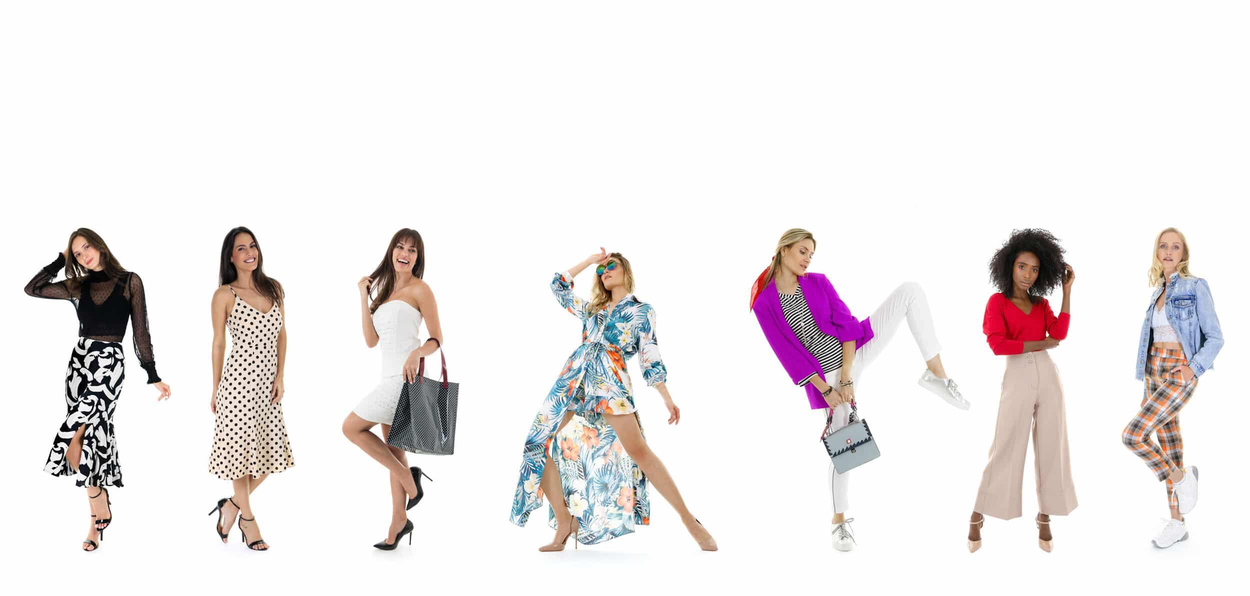 Fotos profissionais para e-commerce de moda